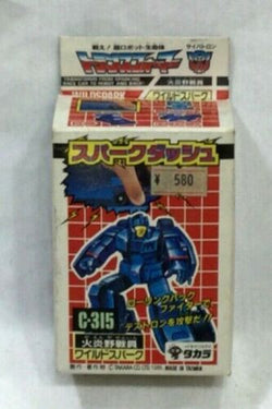 1989 Vintage Takara C-315 G1 Transformers Wildspark MIB Boxed Japanese FREESHIP