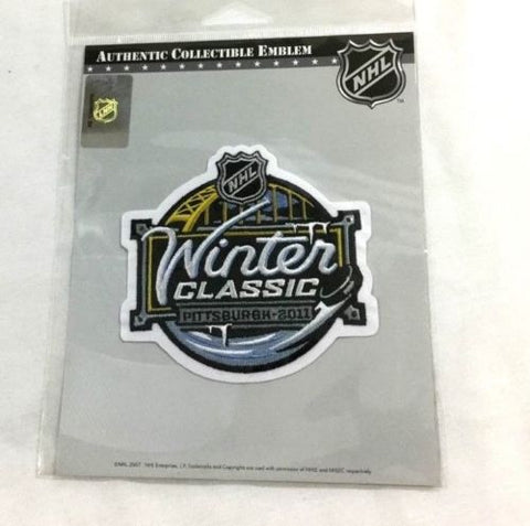more photos 058a2 d75fc 2011 Winter Classic Jersey Patch Washington Capitals Pittsburgh Penguins  FREESHP