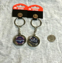2018 World Series Champions Boston Red Sox Trophy Spinning Keychain FREESHIP