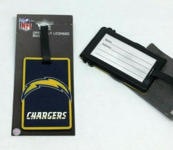 NFL Los Angeles / San Diego Chargers Luggage Tag Travel Bag ID Golf Tag FREESHP