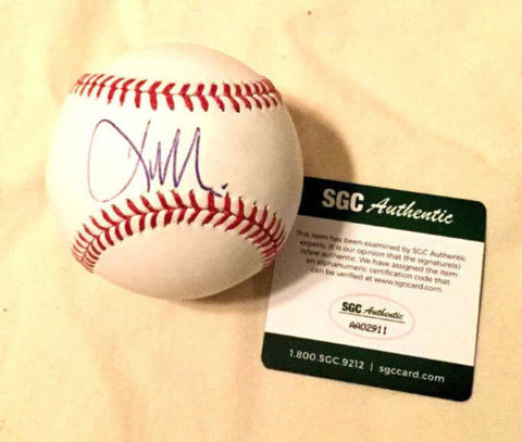 Boston Red Sox 2004 Team Hero Kevin Millar Autographed Signed Baseball SGC