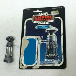 Vintage 1980 Star Wars ESB Medical Droid FX-7 Figure Complete 31 Cardback FREESH