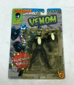 1992 Toybiz Marvel Comics Spiderman Venom 6 Inch Figure Flicking Tounge MOC New