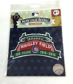 2014 Chicago Cubs Wrigley Field 100th Anniversary 100 Years Patch FREESHIP
