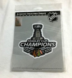 NHL 2013 Stanley Cup Champions Chicago Blackhawks Jersey Patch FREESHIP