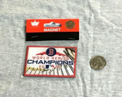 New Boston Red Sox 2018 World Series Champions Flat Magnet 3 Inch Fenway FREESHP