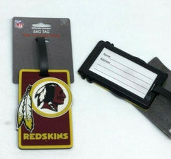NFL Washington Redskins Luggage Tag Travel Bag ID Golf Tag FREESHIP