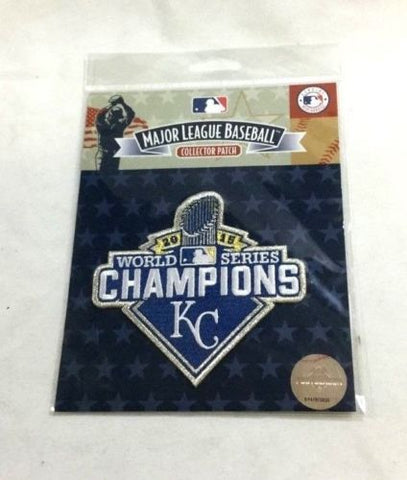 Official Kansas City Royals 2015 World Series Champions Jersey Patch FREESHIP