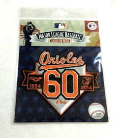 Washington / Baltimore Orioles 60th Anniversary 60 Years Jersey Patch FREESHIP