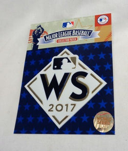 2017 World Series Jersey Patch Houston Astros Los Angeles Dodgers Official MLB