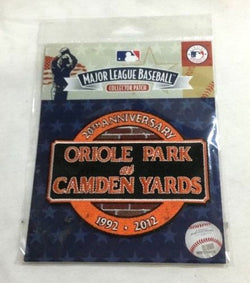 1992 2012 Baltimore Orioles 20th Anniversary Camden Yards Jersey Patch FREESHIP