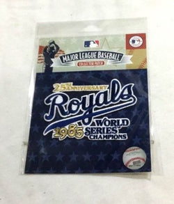 Official Kansas City Royals 1985 World Series Champions Jersey Patch FREESHIP
