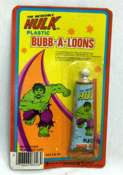 1980 Marvel Comics Incredible Hulk Bubble Balloon Set Bubb-A-Loons Sealed MOC