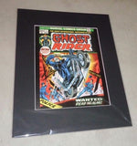 1973 Marvel Comics Ghost Rider #1 Premier Matted Picture Poster 16x20 FREESHIP