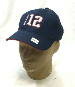 NFL New England Patriots Youth Kids Adjustable Hat Cap Tom Brady #12 TB12