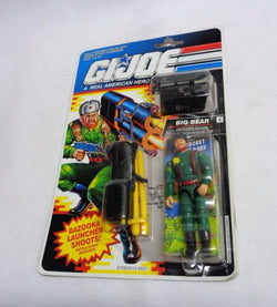 1991 Hasbro GI Joe ARAH Big Bear October Guard Figure MOC Carded Sealed MINT