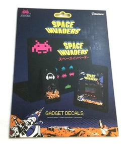 Atari Space Invaders Video Game Set Waterproof Removable Gadget Decals FREESHIP