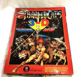 1986 Vintage ThunderCats Colorforms 3-D Playset Complete Boxed Mint FREESHIP