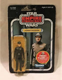 1982 Star Wars Empire Strikes Back Imperial Commander Figure MOC Sealed 47 Back