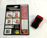 1987 G1 Transformers Throttlebot Chase Complete with Cardback Uncut FREESHIP