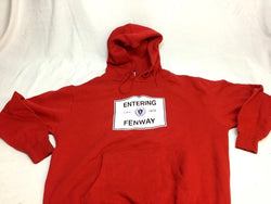 NEW Red Sox Entering Fenway Hoodie Hooded Sweatshirt Mens XLarge Cotton FREESHP