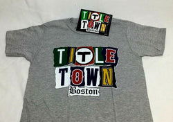 Red Sox Patriots Bruins Celtics Boston Titletown Championships T Shirt Medium