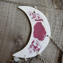 Maroon Moon Phase Wall Hanging