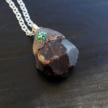 Garnet Crystal Necklace
