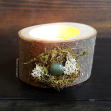 Green Aventurine Wooden Tealight Holder 2