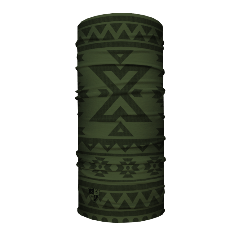 Aztec | Dark Olive Green