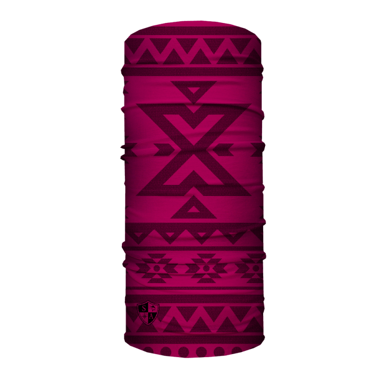 Aztec | Dark Red