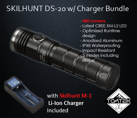 Image of Skilhunt DS20 480 Lumens Flashlight