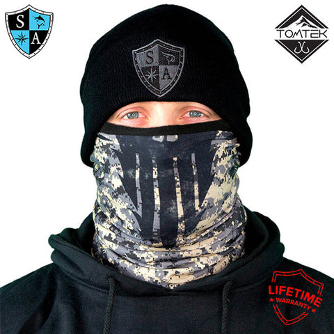 Salt Armour SA&Co FROST TECH™ Fleece Lined FACE SHIELD™ | UV, Snow, Cold Protection