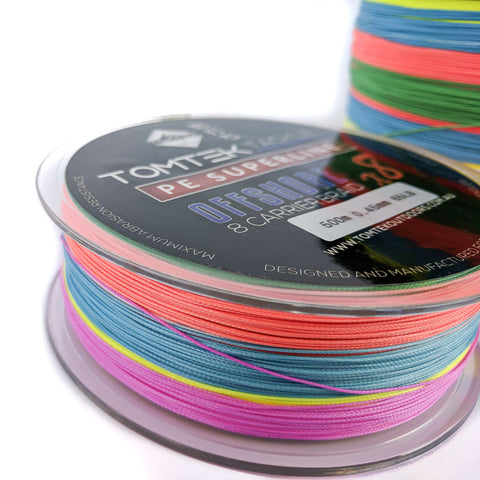 Image of Tomtek Tackle 8-strand PE Superline Offshore Braid