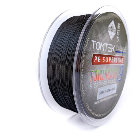 Image of Tomtek Tackle 9-strand PE Superline Supercast Braid