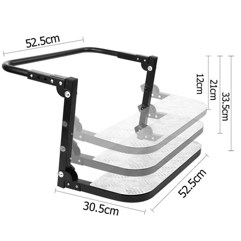 Fully Adjustable Wheel Folding Step Stair