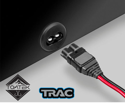 TRAC High-Current Connector Kit for trolling motors