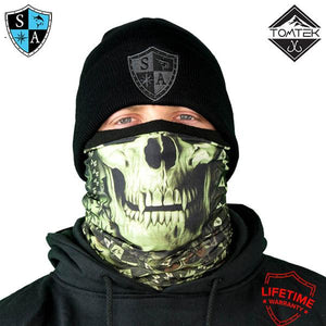 Frost Tech™ | StealthTech™ | Verduous Skull Fleece
