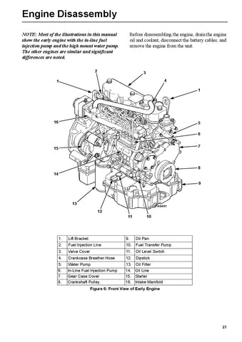 Overhaul Manual Engines: TK482 (4 82), TK486 (4 86)