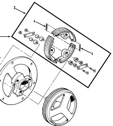 70-0190 Clutch Shoe Kit