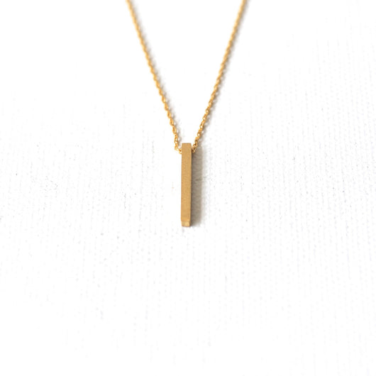 Drop Beam Necklace