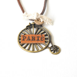 Paris by Velocipede Necklace