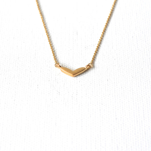 Wide Heart Necklace