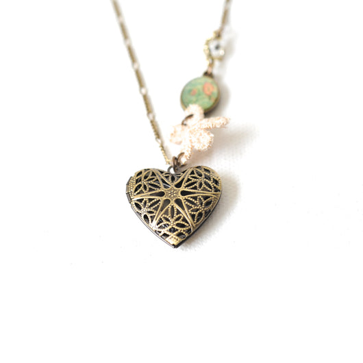Heart Locket Necklace