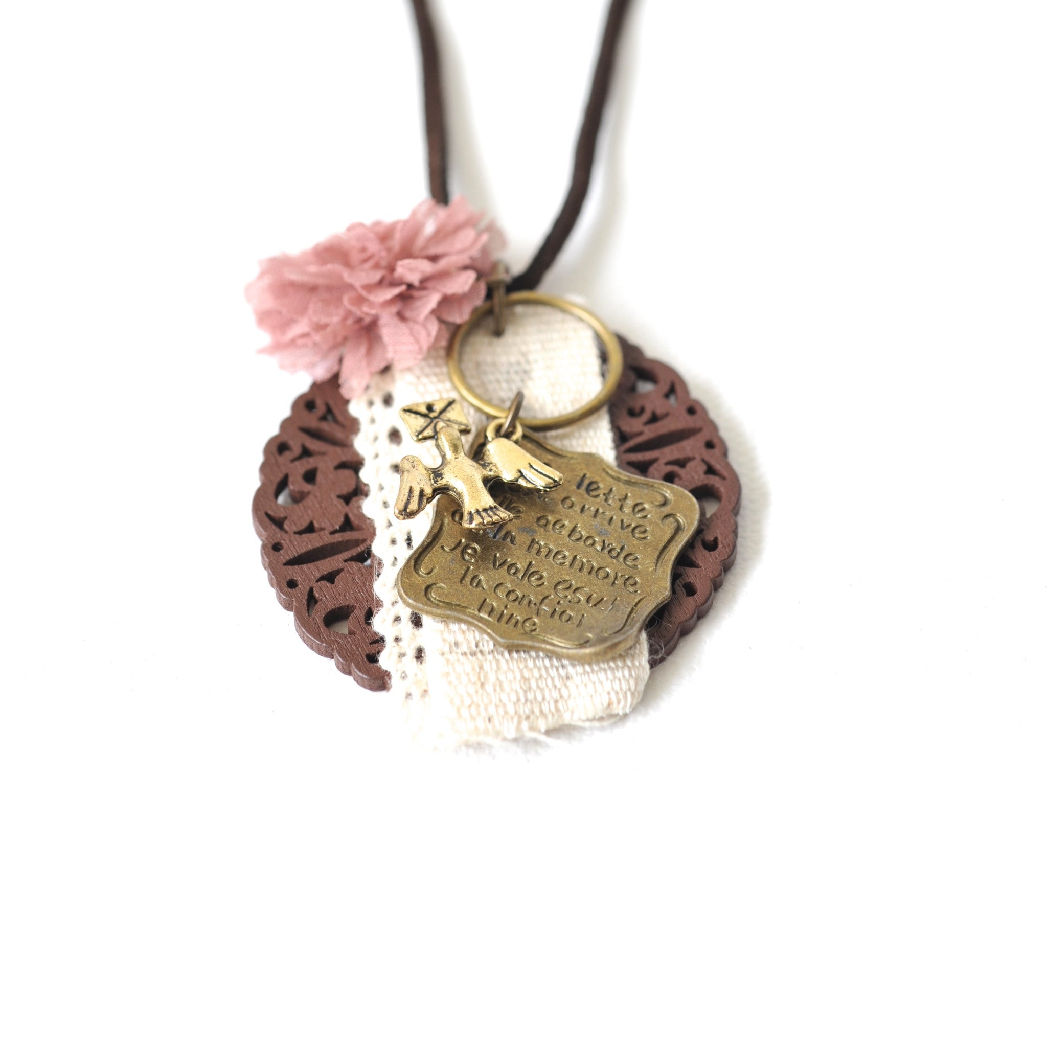 Whimsical Letter Necklace