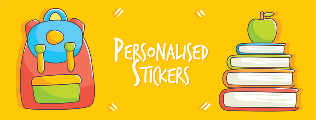 Personalised Stickers - Perfect for school and day care - keep your kids stuff safe