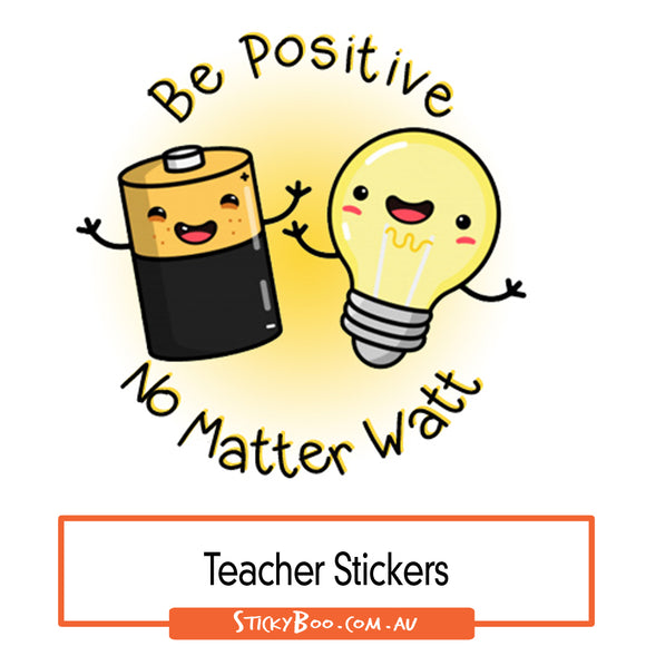 Reward Stickers - Be Positive