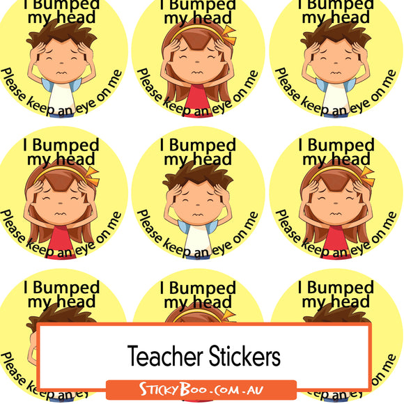 Reward Stickers - Bump!