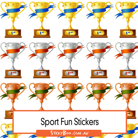 Reward Stickers - Celebration Cups