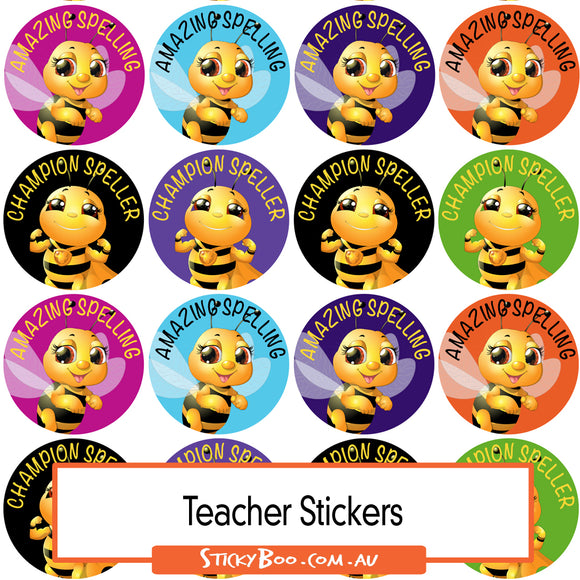 Reward Stickers - Champion Speller